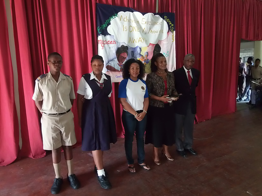 Alleyne School Donation