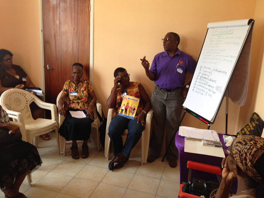 Visitation Team Training 2015