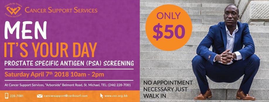 Prostate Specific Antigen (PSA) Screenings