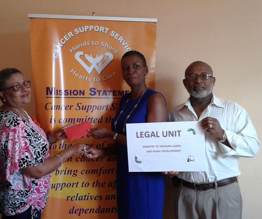 donation from The Legal Unit of the Ministry of Housing Lands and Rural Development