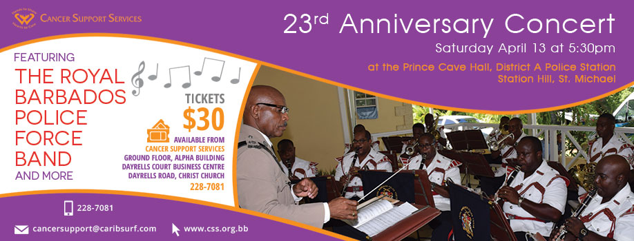 23rd Anniversary Concert - Featuring the Royal Barbados Police Band