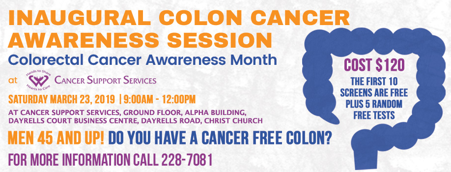 Inaugural Colon Screening